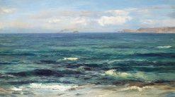 The Cornish Sea   David Farquharson   Oil Painting
