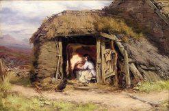Milking-Time   David Farquharson   Oil Painting