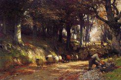 The Stone-Breaker | David Farquharson | Oil Painting