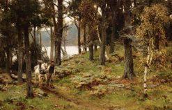 The Woodman's Return | David Farquharson | Oil Painting