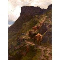Coming down from the Hills | Joseph Farquharson | Oil Painting
