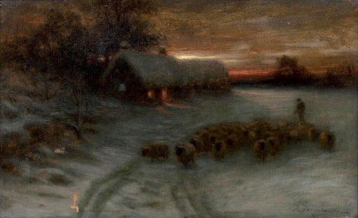 Homeward | Joseph Farquharson | Oil Painting