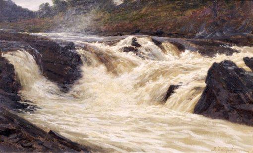 The Falls of Tummel | Joseph Farquharson | Oil Painting