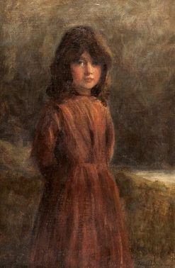 Portrait of a Young Girl | Joseph Farquharson | Oil Painting