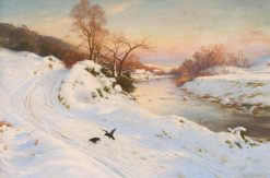 Glowed with Tints of Evening's Hour | Joseph Farquharson | Oil Painting