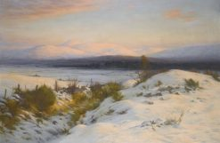 The Valley of the Feugh | Joseph Farquharson | Oil Painting