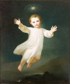 Jesus Child in the Sky | Karl Joseph Aloys Agricola | Oil Painting