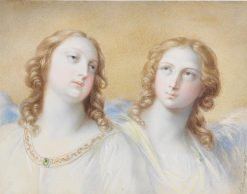 Two Guardian Angels | Karl Joseph Aloys Agricola | Oil Painting