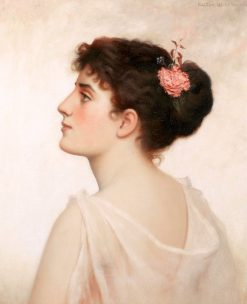 Portrait of a Young Lady | Walter Blackman | Oil Painting