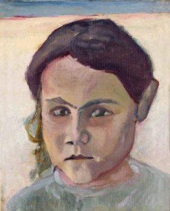 Girl's Head | Ivan Aguéli | Oil Painting