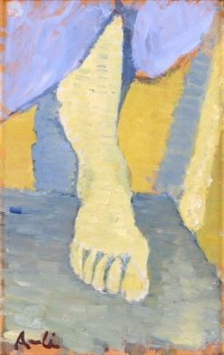 Study of a Foot | Ivan Aguéli | Oil Painting