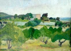Landscape | Ivan Aguéli | Oil Painting
