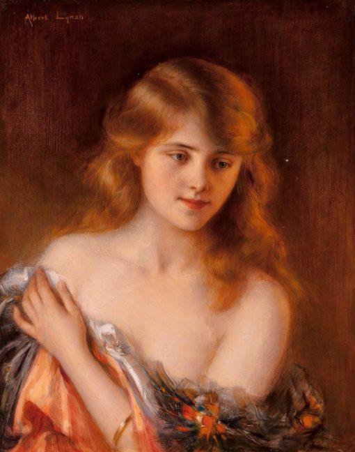 Reverie | Albert Lynch | Oil Painting