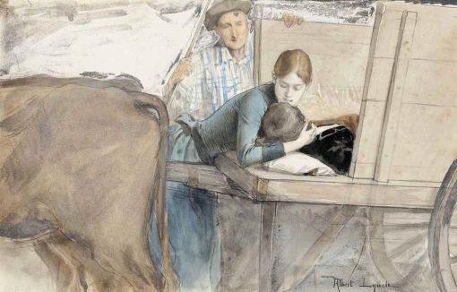 Adieu | Albert Lynch | Oil Painting