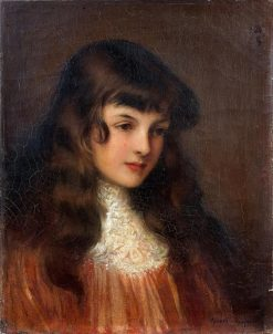 Portrait of a Girl | Albert Lynch | Oil Painting