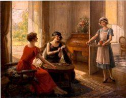 Tea Time | Albert Lynch | Oil Painting