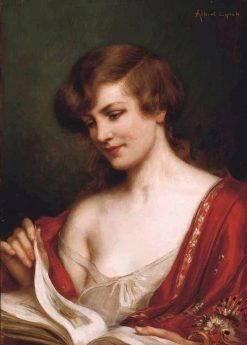 The Picture Book | Albert Lynch | Oil Painting