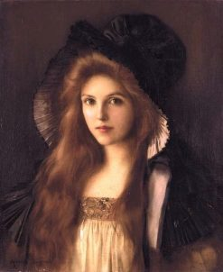 Beautiful Betty | Albert Lynch | Oil Painting