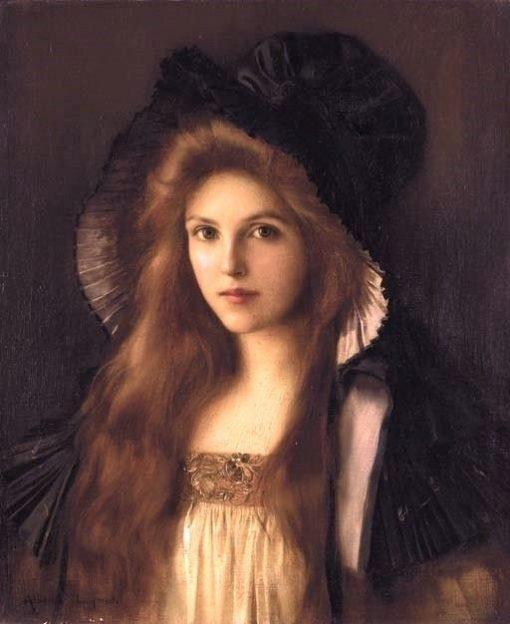 Beautiful Betty | Albert Lynch | Oil Painting