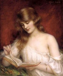 A Quiet Read | Albert Lynch | Oil Painting