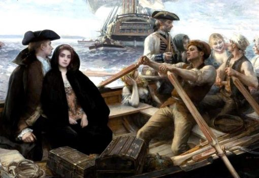 The Jolly Boat | Albert Lynch | Oil Painting