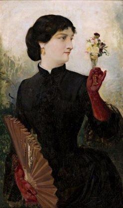 A Girl | Ricardo Martí Aguiló | Oil Painting