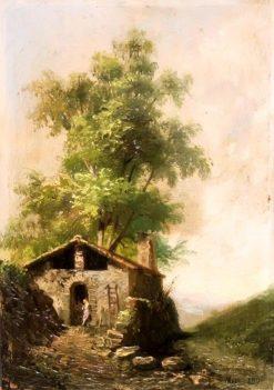 Rural Landscape   Ricardo Martí Aguiló   Oil Painting