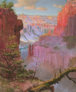 Grand Canyon   Louis Akin   Oil Painting