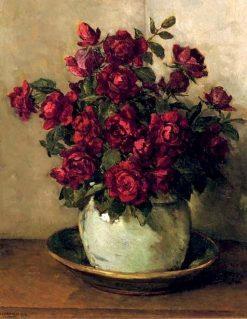 Red Roses | Johannes Evert Hendrik Akkeringa | Oil Painting