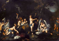 Diana and Actaeon | Francesco Albani | Oil Painting