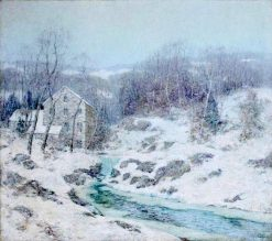 Winter in New England | Ernest Albert | Oil Painting