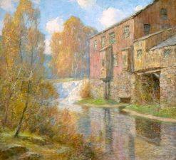 Glenville Mill | Ernest Albert | Oil Painting
