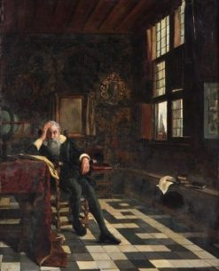 The Grographer | Willem Albracht | Oil Painting