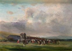 Pilgrimage   Mariano Barbasan Lagueruela   Oil Painting