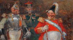 Men of War   Mariano Barbasan Lagueruela   Oil Painting