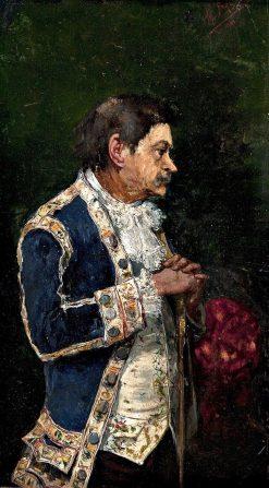 Gentleman Wearing a Justacorps   Mariano Barbasan Lagueruela   Oil Painting