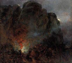 The Devil's Trill Sonata   Mariano Barbasan Lagueruela   Oil Painting