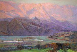 Mountain Landscape   Mariano Barbasan Lagueruela   Oil Painting