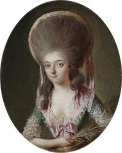 Portrait of a Lady as Ceres   Luis Paret y Alcazar   Oil Painting