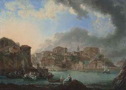 The Harbor of Bermeo   Luis Paret y Alcazar   Oil Painting
