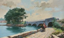 Old Bridge near Perpignan | Hiacynt Alchimowicz | Oil Painting