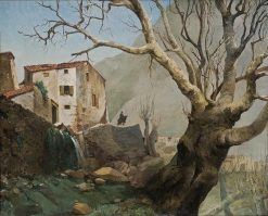 Pyrenees Landscape   Hiacynt Alchimowicz   Oil Painting