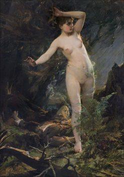 Milda Goddess of Love | Kazimierz Alchimowicz | Oil Painting