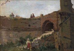 Defense Walls | Kazimierz Alchimowicz | Oil Painting