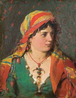 Gypsy | Kazimierz Alchimowicz | Oil Painting
