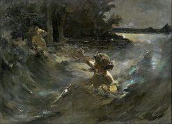 Water Nymph | Kazimierz Alchimowicz | Oil Painting