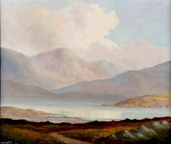 Among the Connemara Mountains | Douglas Alexander | Oil Painting