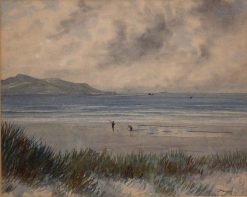 Dollymount Strand | Douglas Alexander | Oil Painting