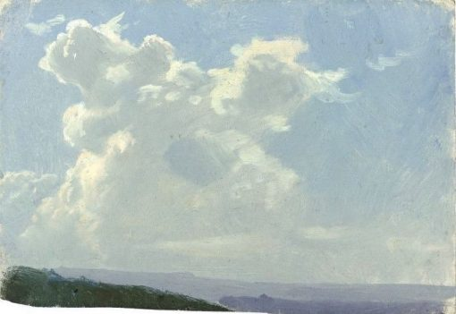 Cloud Study | Auguste Bonheur | Oil Painting