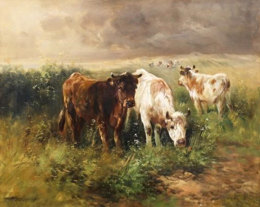 Cows in a Pasture | Rosa Bonheur | Oil Painting